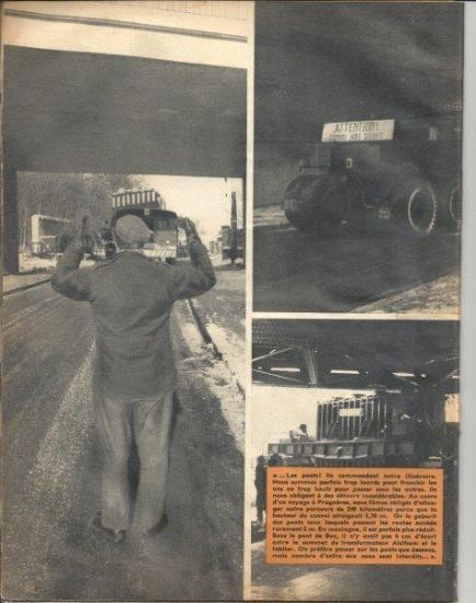 Photos issues d'un magazine